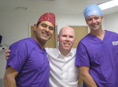 Trond Thilesen –Centre for Sight patient and Ophthalmic Surgeon