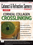 Cataract and Refractive Surgery Today Cover – Corneal Collagen Crosslinking