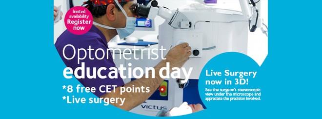 Optometrist Education Day Banner