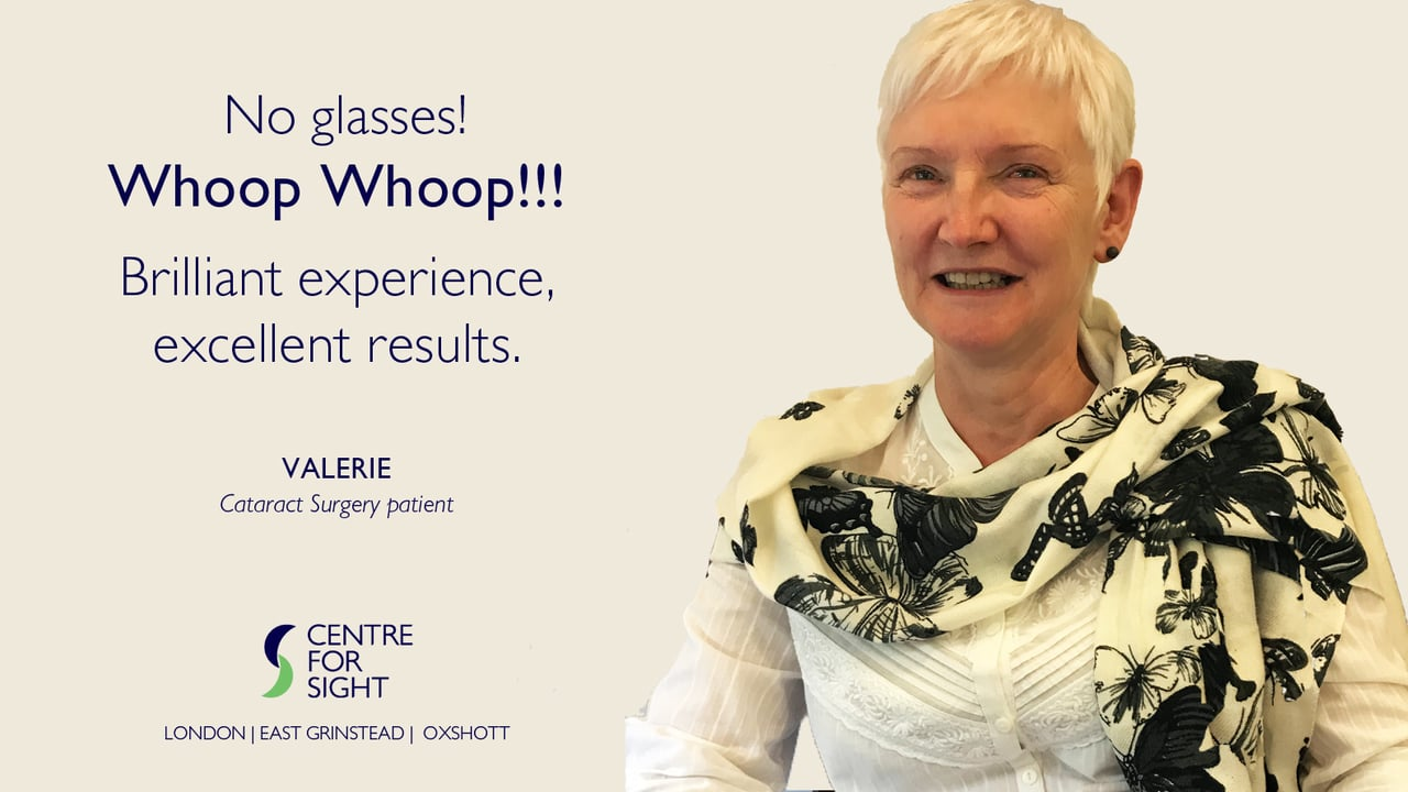 Cataract Llr Patient Stories And Reviews Centre For Sight