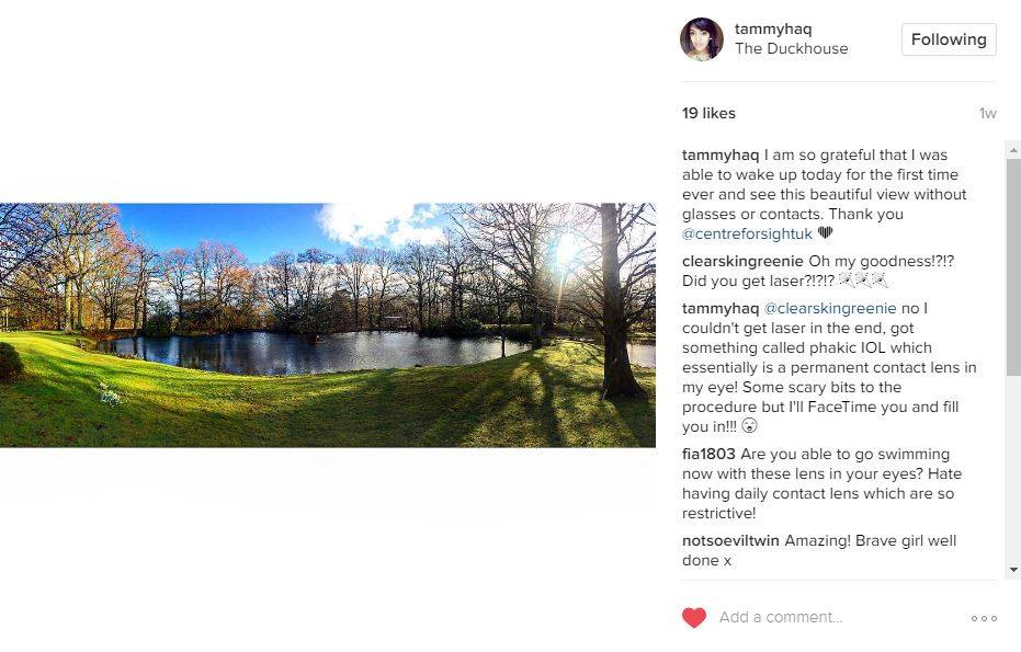 Tammy Rogerson Instagram Screenshot