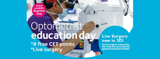 Optometrist Education Day Banner