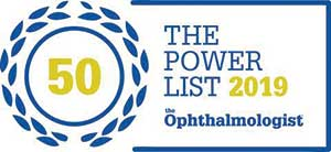 Ophthalmologist The Power List 2019