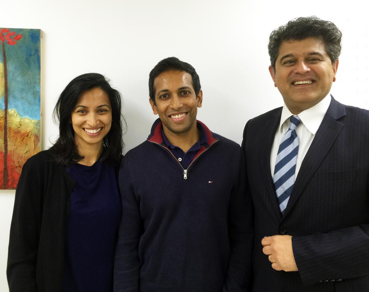 Shivanthy Ratnarajan, GP with Sheraz Daya