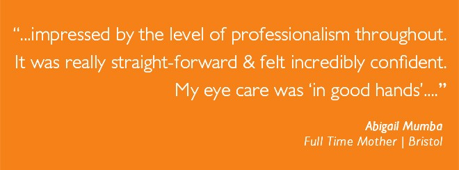 Abigail Mumba underwetn LASIK treatment at Centre for Sight and shares her thoughts.