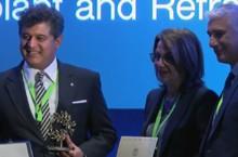 Sheraz Daya presented his Fyodorov award in Athens