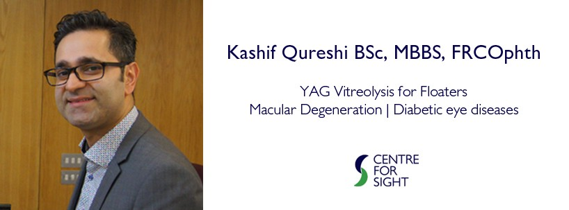 Kashif Qureshi at Centre for Sight