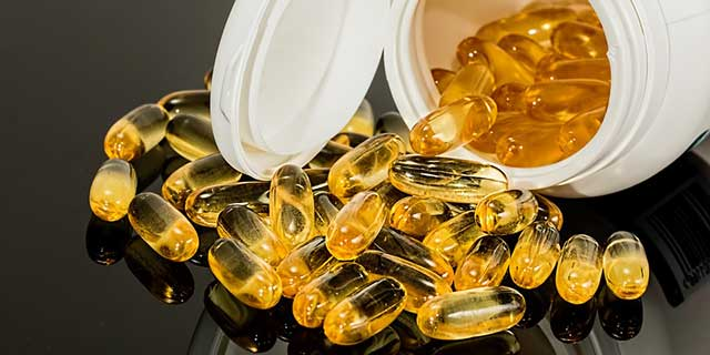 Eye health – Omega 3 supplements