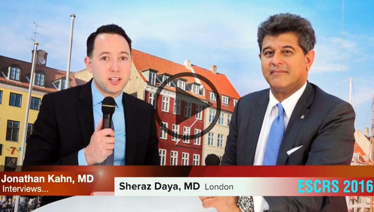 Sheraz Daya interview with Jonathan Kahn, MD – EyeWorld