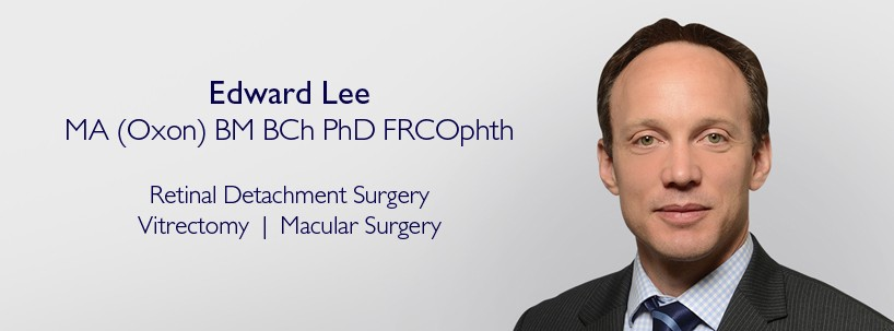 Edward Lee - Retinal Surgeon at Centre for Sight