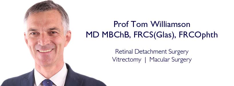 Prof Tom Williamson - Retinal Specialist at Centre for Sight