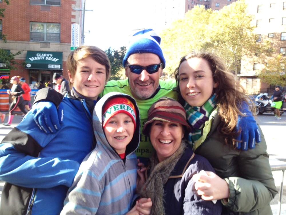 Michael O'Rourke corneal transplant fundraiser