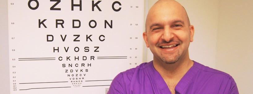 Saj Khan - Corneal Surgeon at Centre for Sight